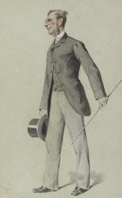 Sir John Edmund Commerell, by Théobald Chartran ('T'), published in Vanity Fair 24 December 1881 - NPG 4060 - © National Portrait Gallery, London