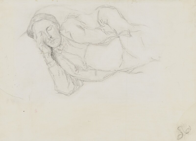 Charles Edward Conder, by William Rothenstein, circa 1896 -NPG 2558 - © National Portrait Gallery, London