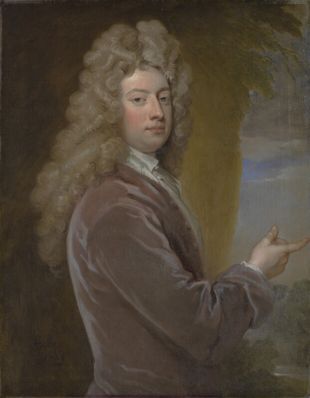 William Congreve, by Sir Godfrey Kneller, Bt, 1709 - NPG 3199 - © National Portrait Gallery, London