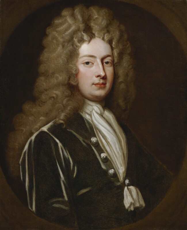 William Congreve, by Sir Godfrey Kneller, Bt, circa 1709 -NPG 67 - © National Portrait Gallery, London