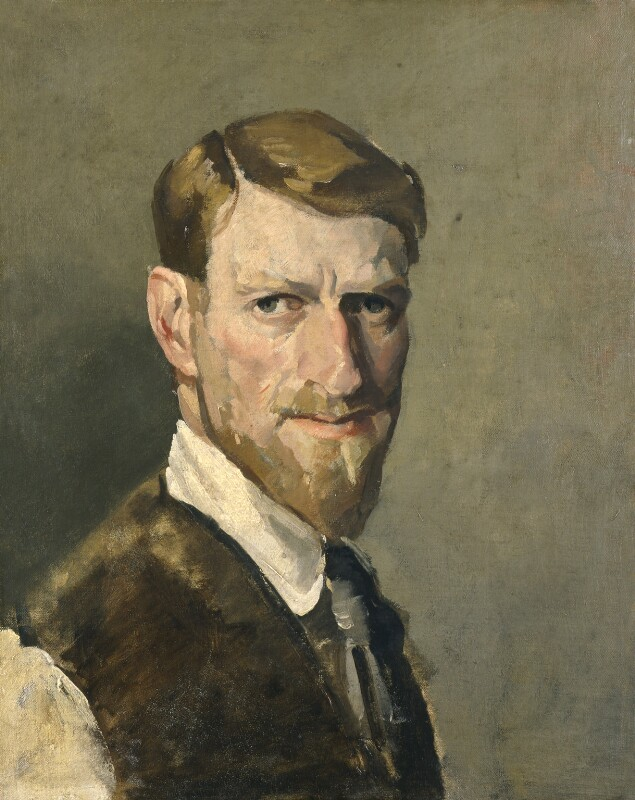 Philip Connard, by Philip Connard, 1910s or 1920s? - NPG 4702 - © reserved; collection National Portrait Gallery, London