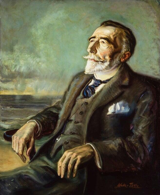 Joseph Conrad, by Walter Tittle, 1923-1924 - NPG 2220 - © National Portrait Gallery, London