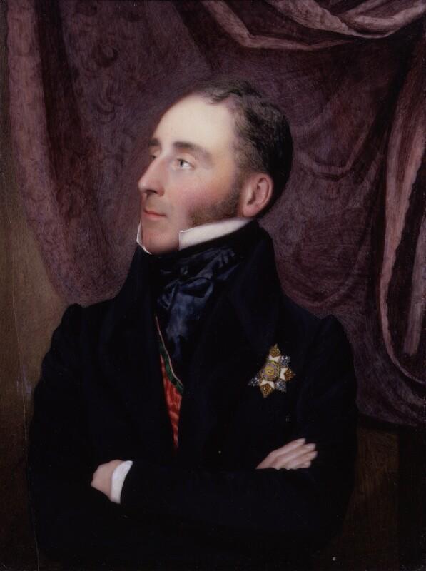 Sir John Conroy, 1st Bt, by Alfred Tidey, 1836 - NPG 2175 - © National Portrait Gallery, London