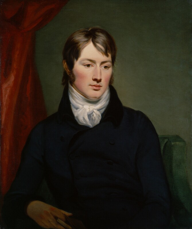 John Constable, by Ramsay Richard Reinagle, circa 1799 - NPG 1786 - © National Portrait Gallery, London