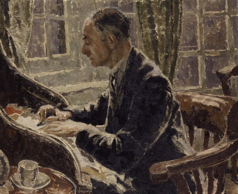 William George Constable, by Elizabeth Polunin (née Hart), circa 1936 - NPG 5090 - © National Portrait Gallery, London