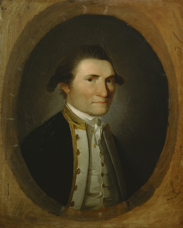 James Cook, by John Webber, November 1776 -NPG 26 - © National Portrait Gallery, London