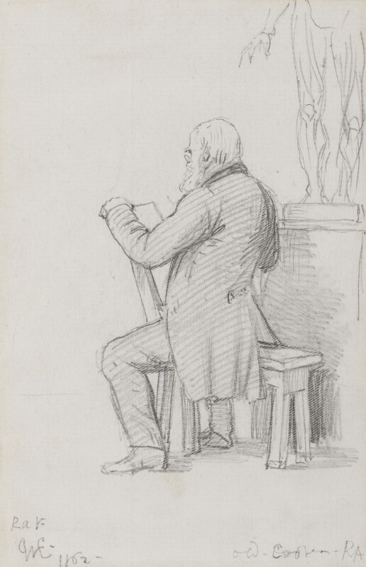Abraham Cooper, by Charles West Cope, 1862 -NPG 3182(1) - © National Portrait Gallery, London