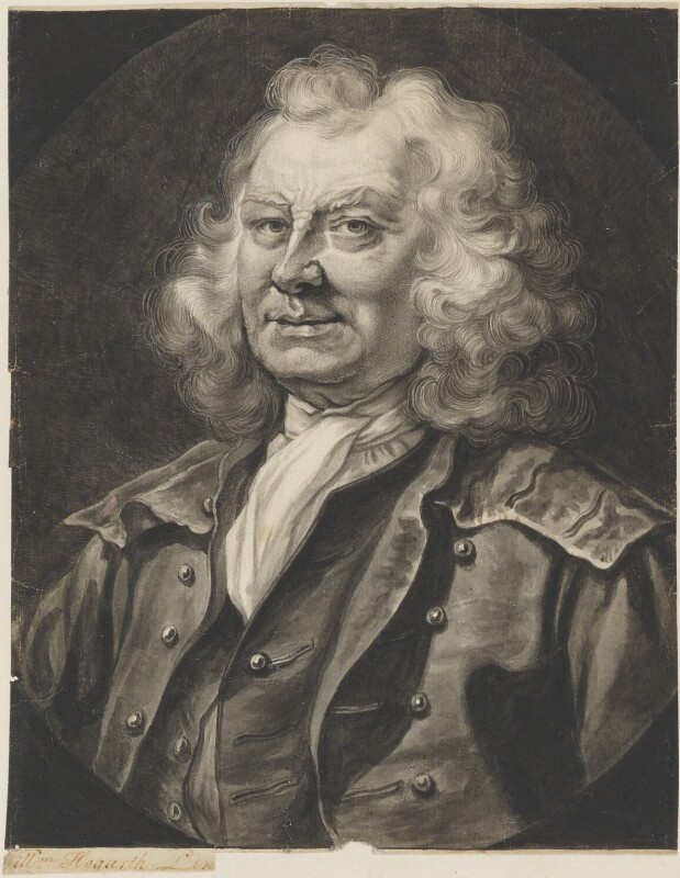 Thomas Coram, after William Hogarth, based on a work of 1740 - NPG 2427 - © National Portrait Gallery, London