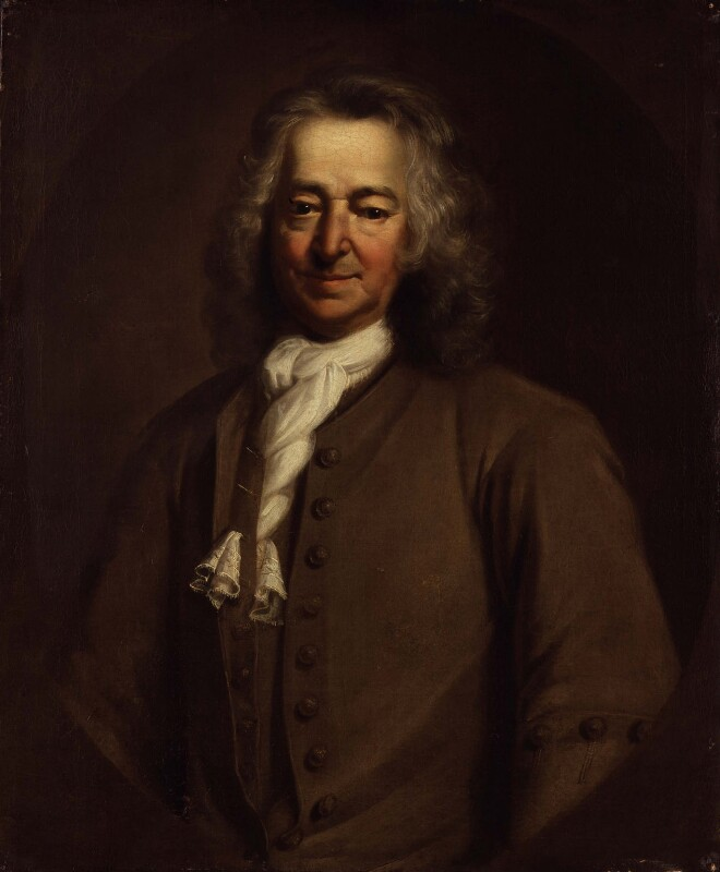 Unknown man, formerly known as Thomas Coram, by Unknown artist, 1720s - NPG 2351 - © National Portrait Gallery, London