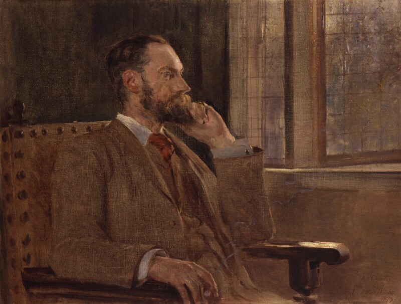 Matthew Ridley Corbet, by John McLure Hamilton, 1893 -NPG 1867 - © National Portrait Gallery, London