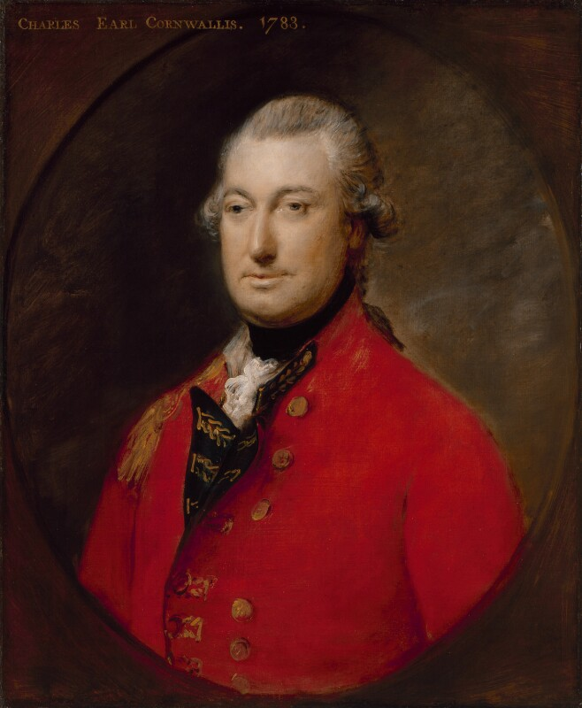 Charles Cornwallis, 1st Marquess Cornwallis, by Thomas Gainsborough, 1783 - NPG 281 - © National Portrait Gallery, London