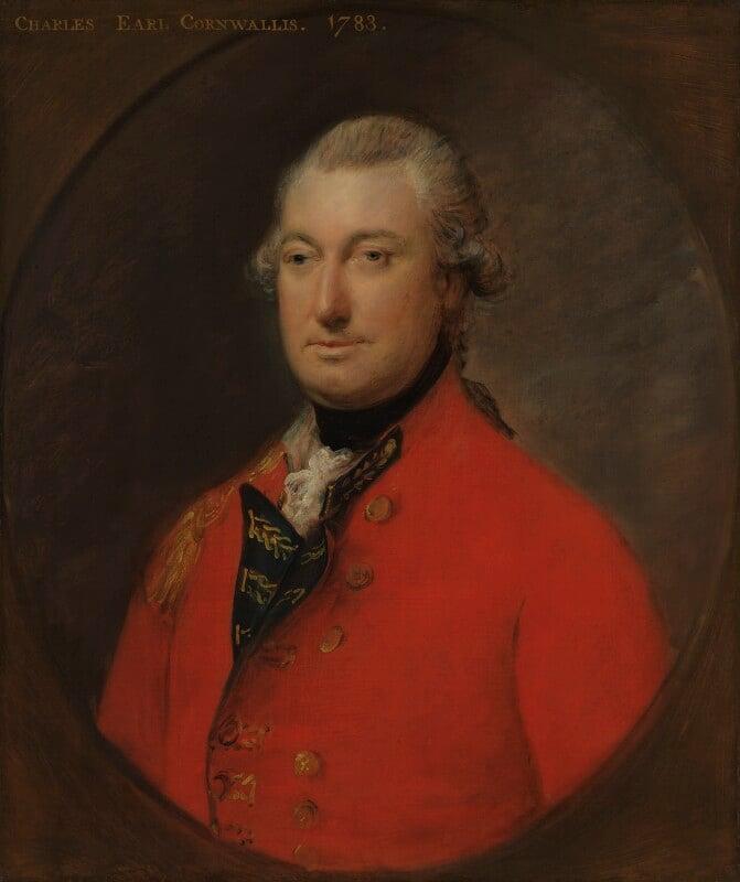 Charles Cornwallis, 1st Marquess Cornwallis, by Thomas Gainsborough, 1783 -NPG 281 - © National Portrait Gallery, London