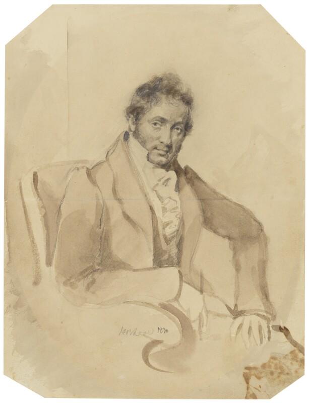 John Sell Cotman, by Horatio Beevor Love, 1830 -NPG 1372 - © National Portrait Gallery, London