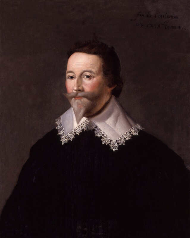 Francis Cottington, 1st Baron Cottington, by Unknown artist, 1634? - NPG 605 - © National Portrait Gallery, London