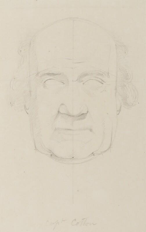 Captain Cotton, by Sir Francis Leggatt Chantrey, circa 1820 -NPG 316a(22) - © National Portrait Gallery, London