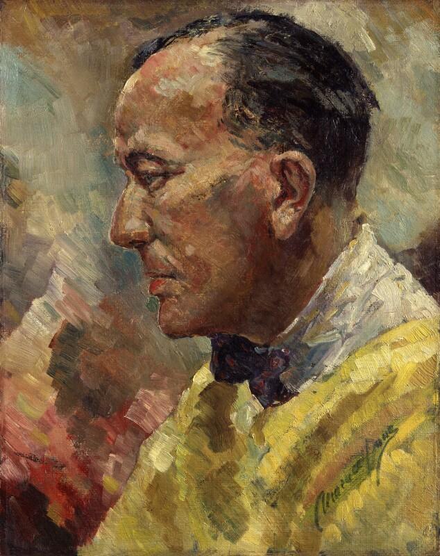Noël Coward, by Clemence Dane (Winifred Ashton), before 1939 - NPG 4950 - © National Portrait Gallery, London