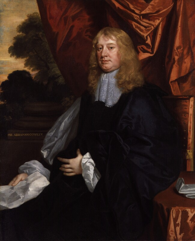 Abraham Cowley, by Sir Peter Lely, circa 1666-1667 - NPG 4215 - © National Portrait Gallery, London