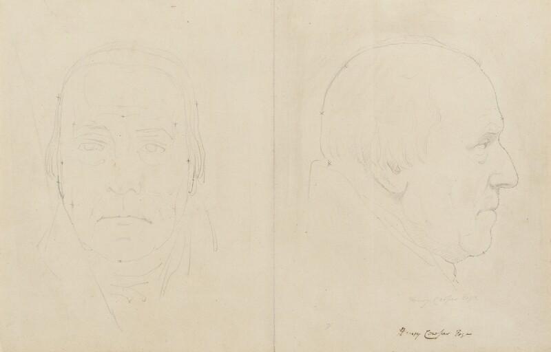 Henry Cowper, by Sir Francis Leggatt Chantrey, 1823 - NPG 316a(23) - © National Portrait Gallery, London