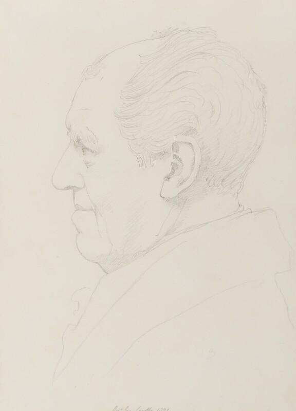 George Crabbe, by Sir Francis Leggatt Chantrey, 1821 -NPG 316a(24b) - © National Portrait Gallery, London