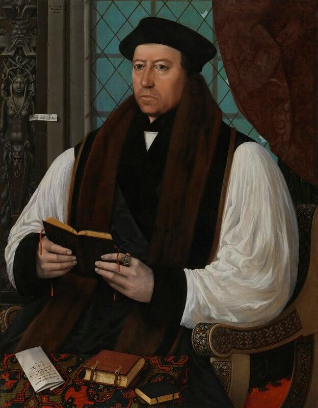 Thomas Cranmer, by Gerlach Flicke, 1545-1546 - NPG 535 - © National Portrait Gallery, London