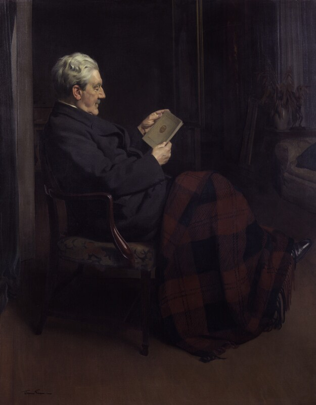 David Alexander Edward Lindsay, 27th Earl of Crawford and 10th Earl of Balcarres, by Sir James Gunn, 1939 - NPG 3088 - © National Portrait Gallery, London