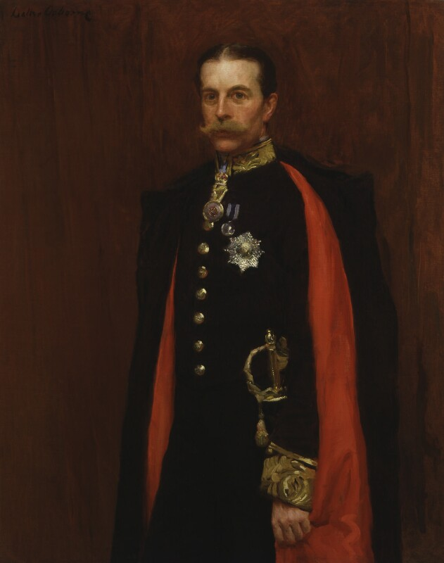 Robert Offley Ashburton Crewe-Milnes, 1st Marquess of Crewe, by Walter Frederick Osborne, circa 1890s - NPG 3849 - © National Portrait Gallery, London