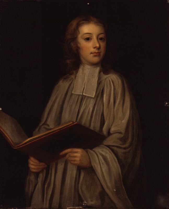 William Croft, by Unknown artist, circa 1690-1695 - NPG 1192 - © National Portrait Gallery, London