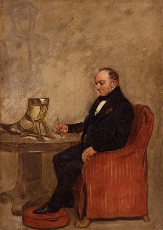 Thomas Crofton Croker, by Unknown artist, circa 1849 - NPG 4555 - © National Portrait Gallery, London