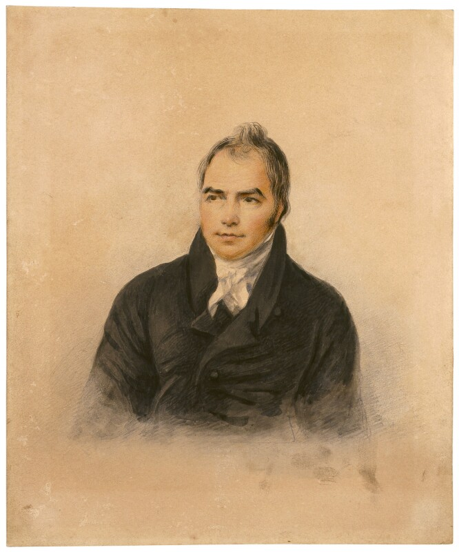 John Crome, by Denis Brownell Murphy, exhibited 1821 -NPG 2061 - © National Portrait Gallery, London