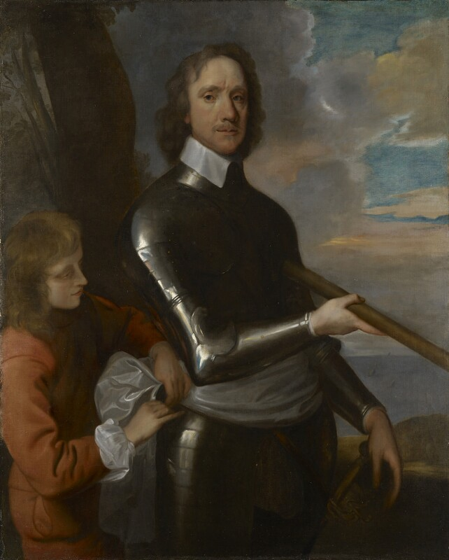 Oliver Cromwell, by Robert Walker, circa 1649 -NPG 536 - © National Portrait Gallery, London