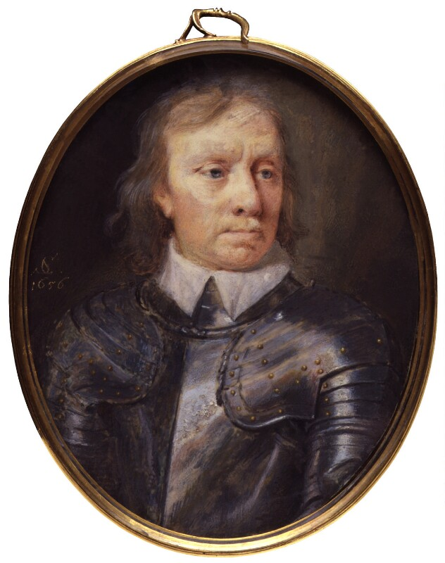 Oliver Cromwell, by Samuel Cooper, 1656 -NPG 3065 - © National Portrait Gallery, London