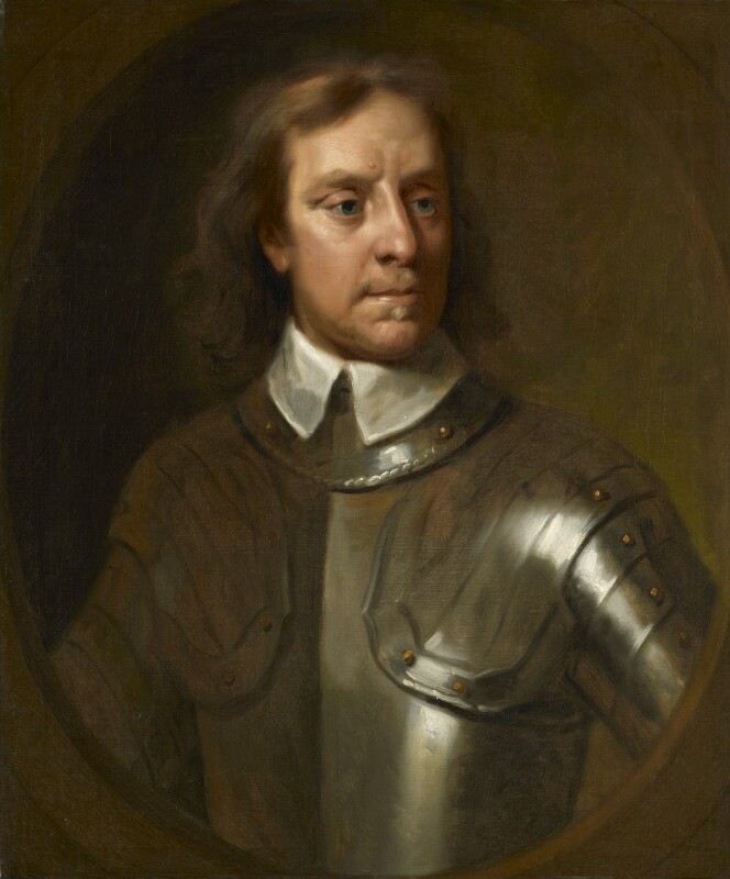 Oliver Cromwell, by Samuel Cooper, based on a work of 1656 -NPG 514 - © National Portrait Gallery, London