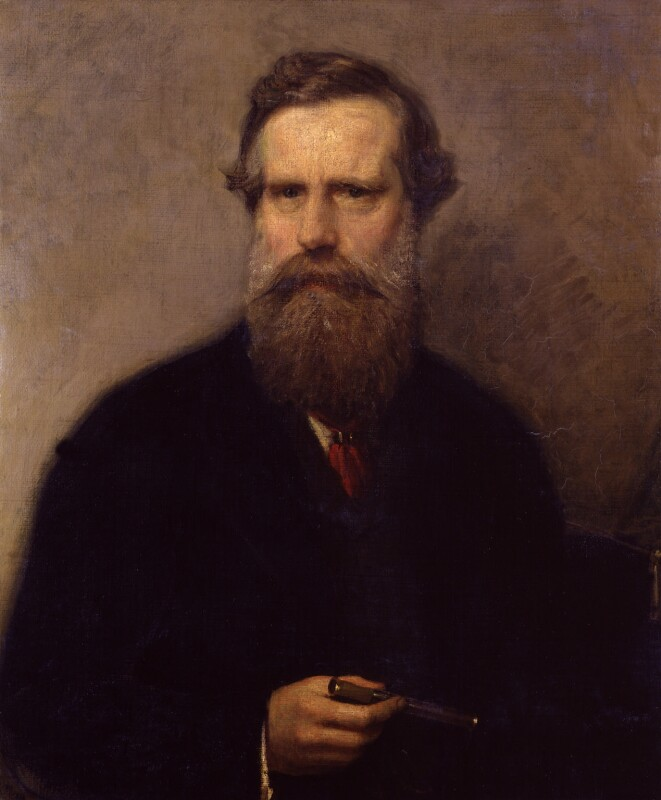 Sir William Crookes, by Albert Ludovici, circa 1884-1885 - NPG 1846 - © National Portrait Gallery, London