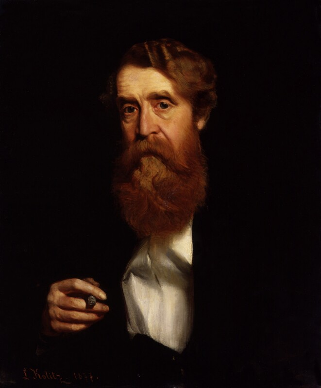 Sir Joseph Archer Crowe, by Louis Kolitz, 1877 - NPG 4329 - © National Portrait Gallery, London
