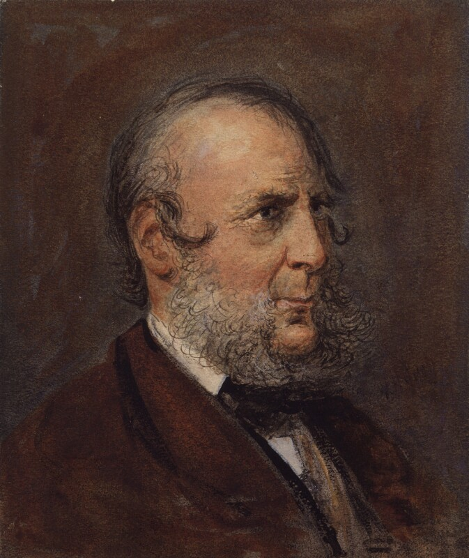George Cruikshank, after a photograph by Elliott & Fry, late 19th century, based on a work of 1872 - NPG 3150 - © National Portrait Gallery, London