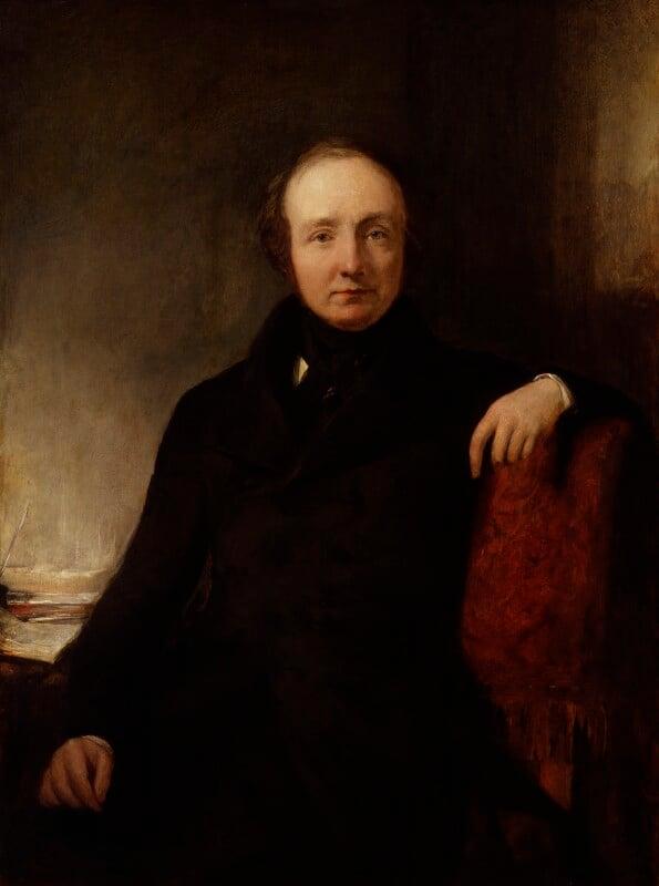 Lewis Cubitt, by Sir William Boxall, 1845 -NPG 4099 - © National Portrait Gallery, London