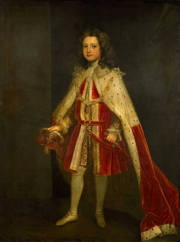 William Augustus, Duke of Cumberland, by Charles Jervas, circa 1728 - NPG 802 - © National Portrait Gallery, London