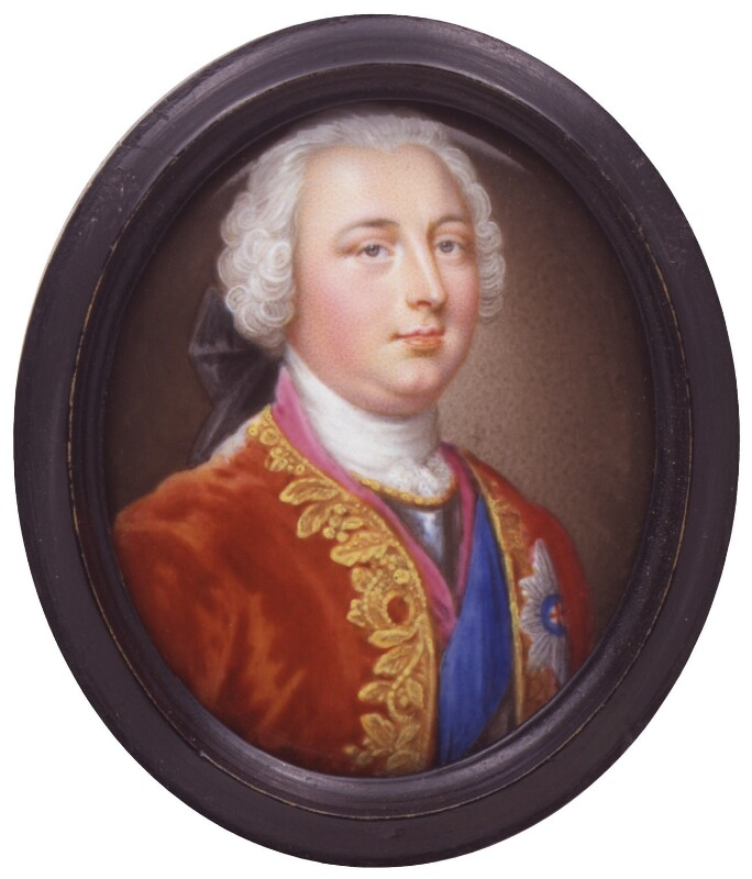William Augustus, Duke of Cumberland, attributed to Christian Friedrich Zincke, circa 1743-1745 - NPG 6285 - © National Portrait Gallery, London