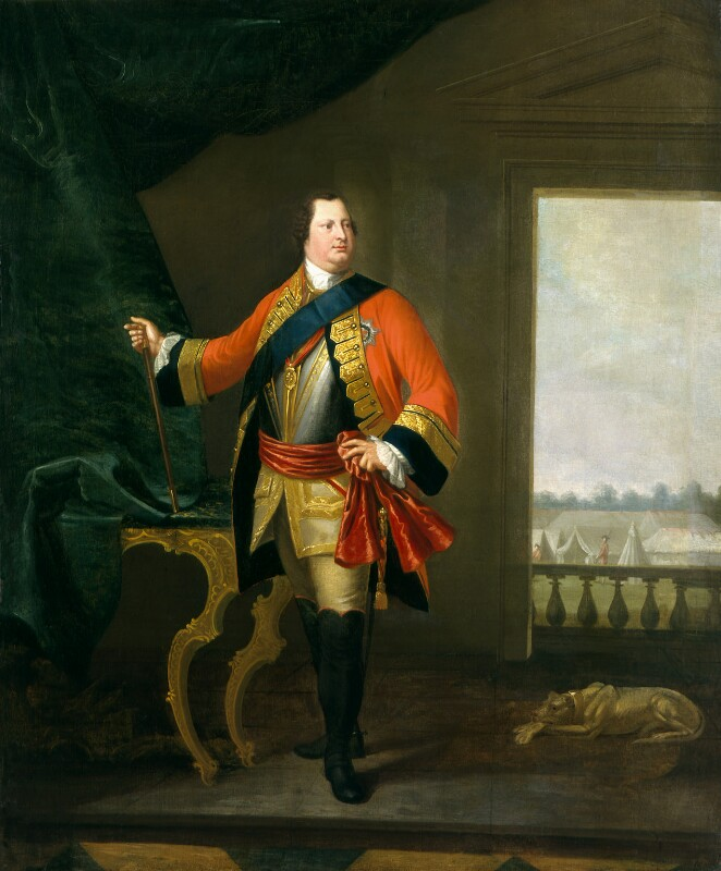 William Augustus, Duke of Cumberland, studio of David Morier, 1749-1770, based on a work of circa 1748-1749 - NPG 537 - © National Portrait Gallery, London