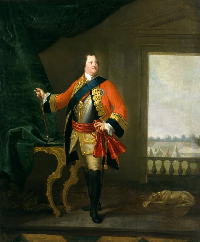 William Augustus, Duke of Cumberland, studio of David Morier, 1749-1770, based on a work of circa 1748-1749 - NPG 537 - © National Portrait Gallery, London