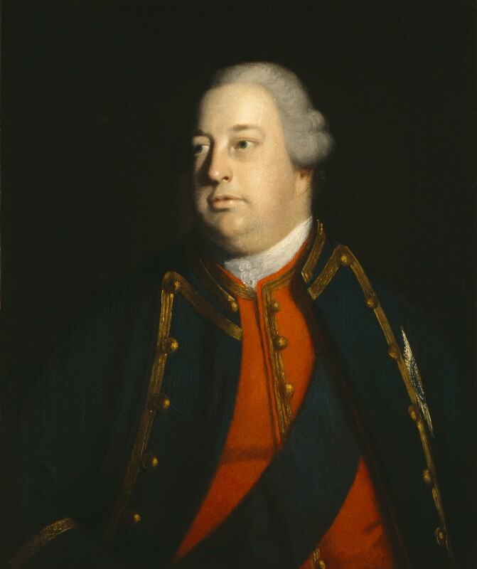 William Augustus, Duke of Cumberland, studio of Sir Joshua Reynolds, circa 1758-1760 - NPG 625 - © National Portrait Gallery, London