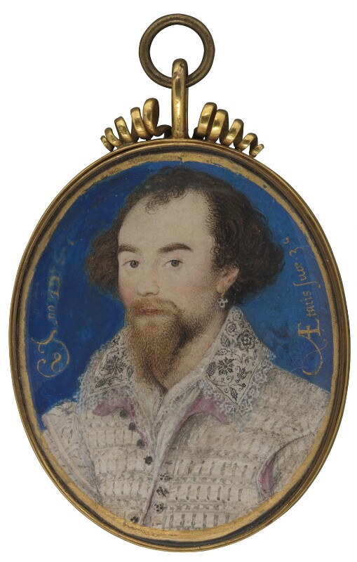 George Clifford, 3rd Earl of Cumberland, by Nicholas Hilliard, 1588 - NPG 6273 - © National Portrait Gallery, London
