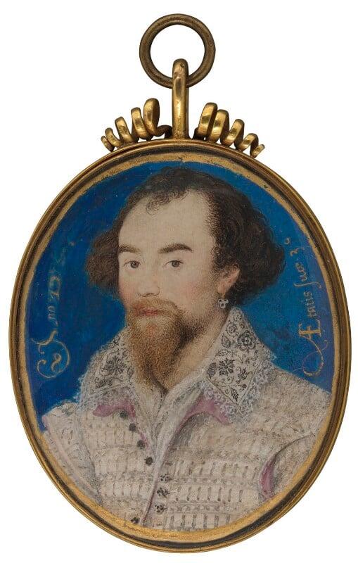 George Clifford, 3rd Earl of Cumberland, by Nicholas Hilliard, 1588 - NPG 6273 - © National Portrait Gallery, London