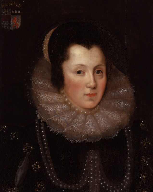 Margaret, Countess of Cumberland, after Unknown artist, mid 17th century, based on a work of 1585 - NPG 415 - © National Portrait Gallery, London