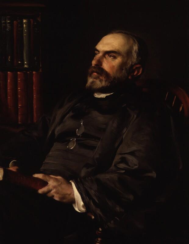 William Cunningham, by Eric Kennington, 1908 - NPG 4021 - © National Portrait Gallery, London