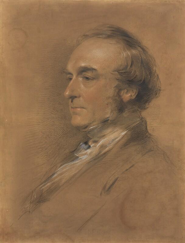 William Cureton, by George Richmond, 1861 - NPG 3164 - © National Portrait Gallery, London
