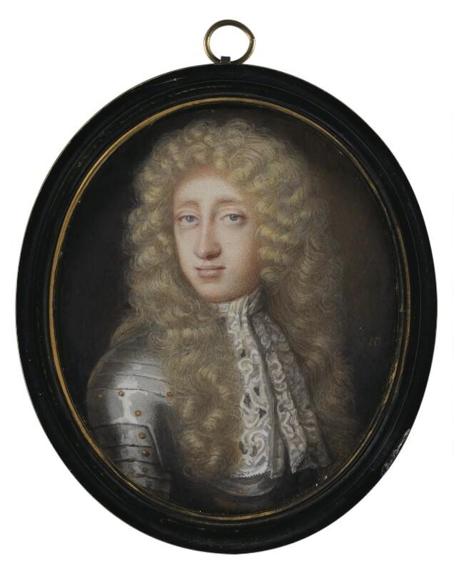 John Cutts, Baron Cutts, by Nicholas Dixon, circa 1690 -NPG 6281 - © National Portrait Gallery, London