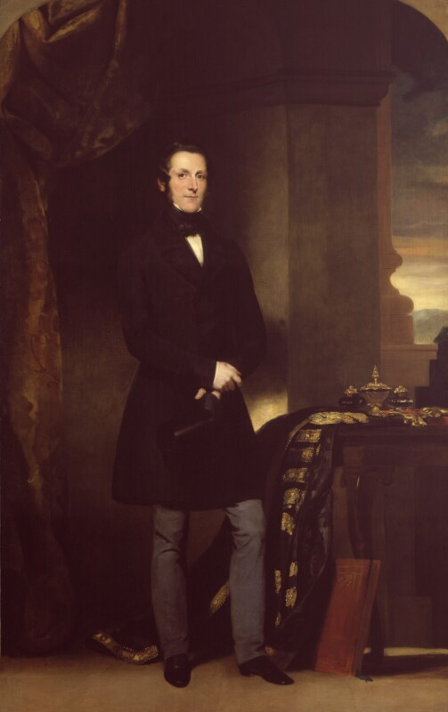 James Andrew Broun Ramsay, 1st Marquess of Dalhousie, by Sir John Watson-Gordon, 1847 - NPG 188 - © National Portrait Gallery, London