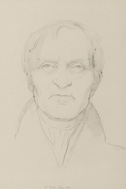 John Dalton, by Sir Francis Leggatt Chantrey, 1834 -NPG 316a(29) - © National Portrait Gallery, London