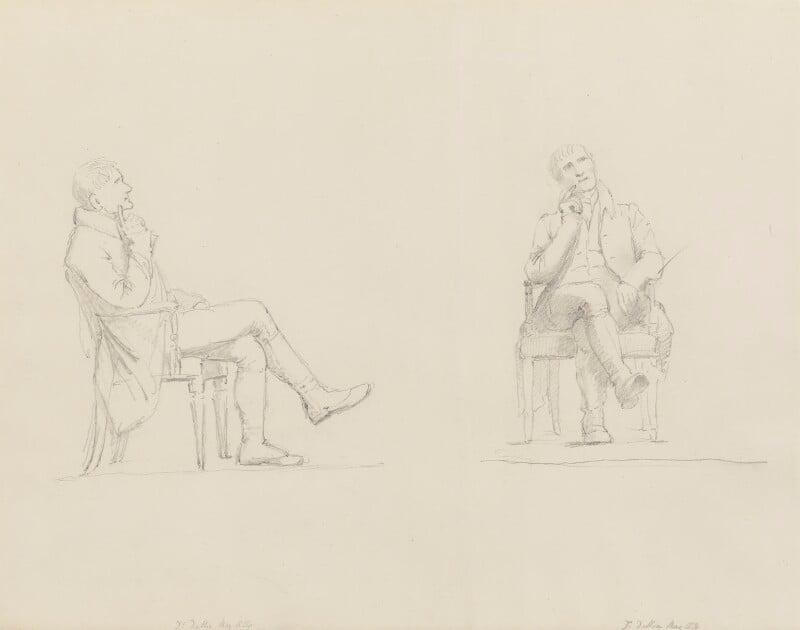 John Dalton, by Sir Francis Leggatt Chantrey, 1834 - NPG 316a(27) - © National Portrait Gallery, London